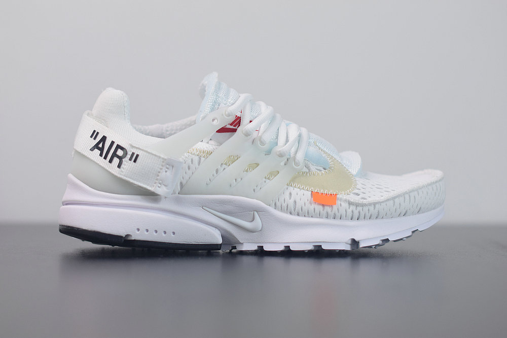 2020 Womens Cheap Nike Air Presto 2.0 x Off-White ow White Black Cone Blanc Noir AA3830-100