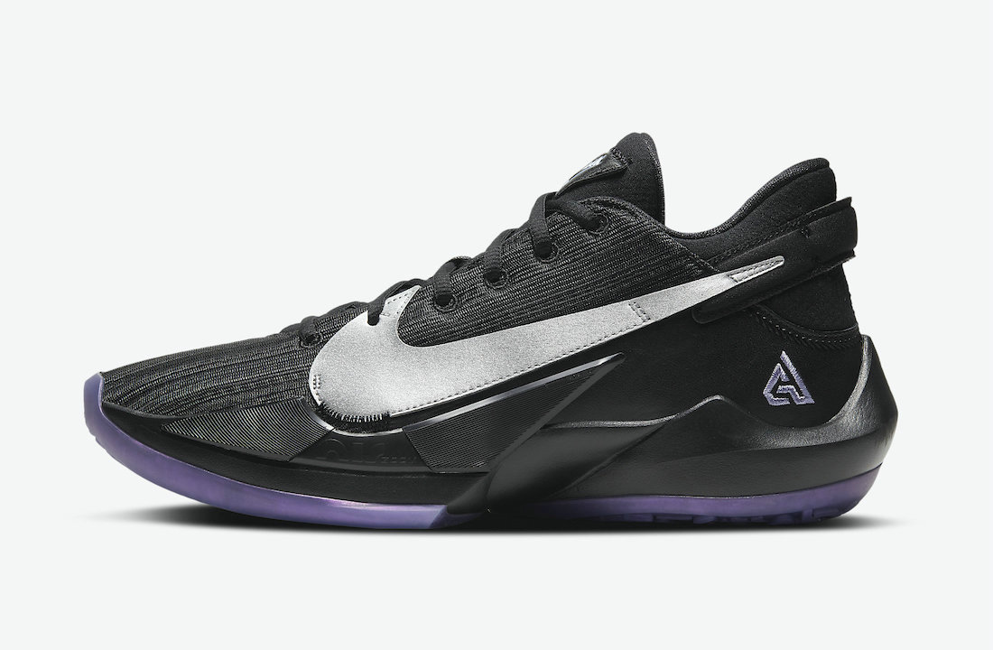 2021 Cheap Nike Zoom Freak 2 Dusty Amethyst Black Metallic Silver-Dusty Amethyst CK5424-005
