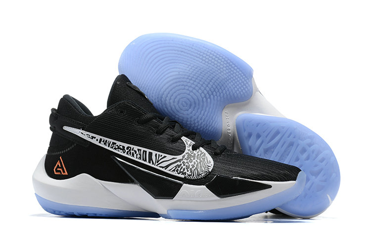 2021 Cheap Nike Zoom Freak 2 White Black Orange