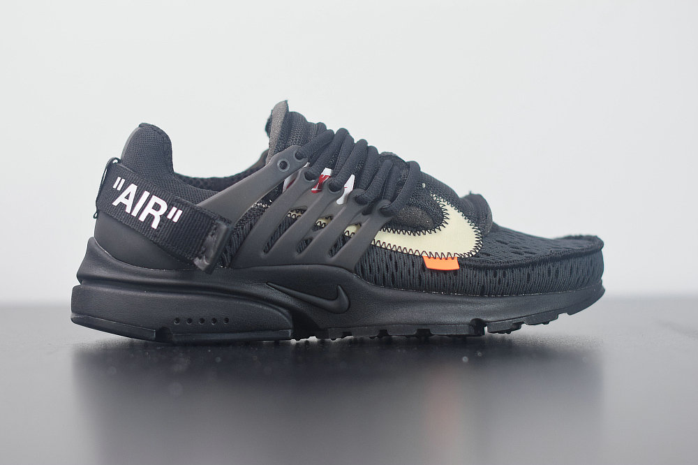 22020 Womens Cheap Nike Air Presto 2.0 x Off-White ow Black White-Cone Noir Blanc AA3830-002
