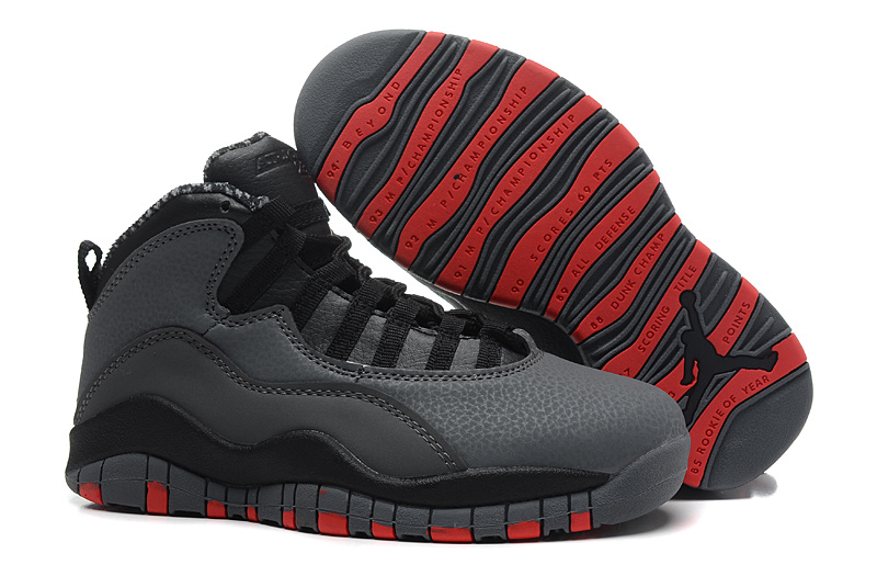 Air Jordans 10 Retro Cool Grey Infrared-Black For Sale