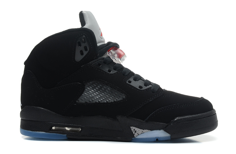 uk availability 62cb4 846a7 Air Jordans 5 Retro Black Varsity Red-Metallic Silver For Sale
