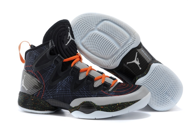 Air Jordans XX8 SE Christmas Black White-Reflect Silver-Total Orange For Sale