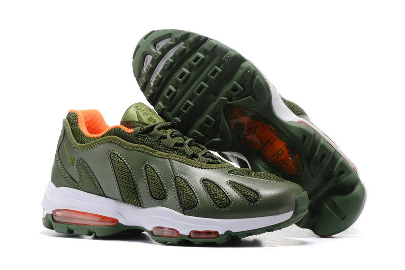 Air Maxs Cheap Nike Air Max 96 Army Green White Red