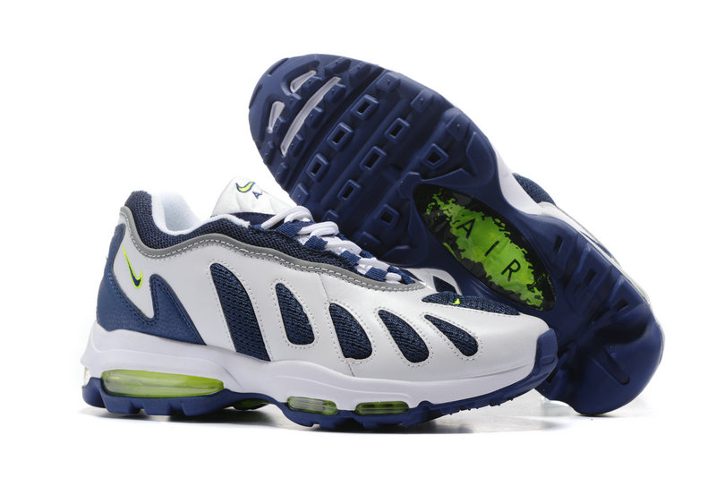 Air Maxs Cheap Nike Air Max 96 Blue White Green