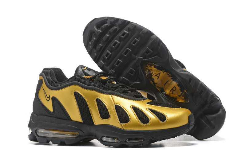 Air Maxs Cheap Nike Air Max 96 Gold Black