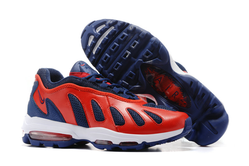 Air Maxs Cheap Nike Air Max 96 Red Blue White