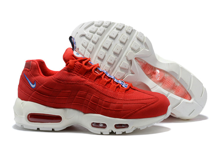e9a27bc1eabe New 2018 Air Max Cheap x Nike Air Max 95 Pull Tab Pack Red White ...