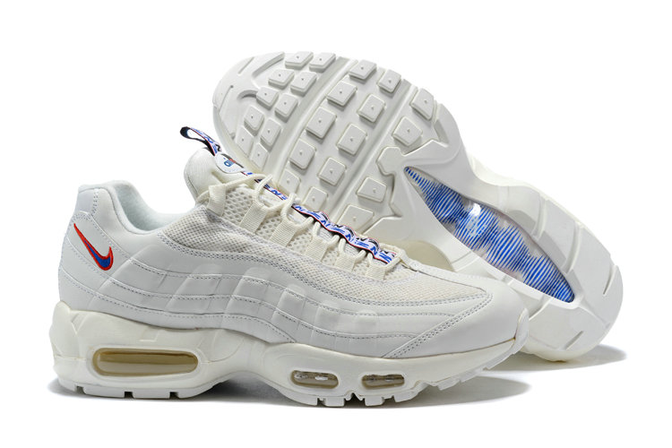 3b60c4f658e7 New 2018 Air Max Cheap x Nike Air Max 95 Pull Tab Pack Triple White ...