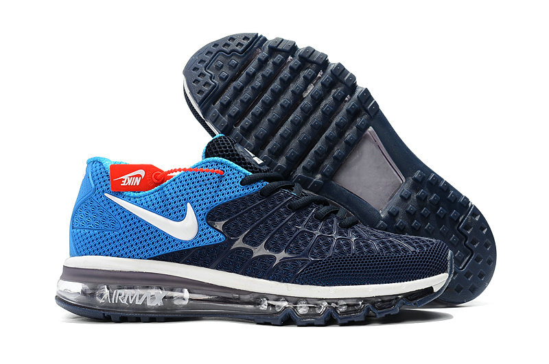 outlet store aa8c2 6d0a8 Cheap Newest Nike Air Max 2017 Mens Navy Baby Blue - Cheap ...