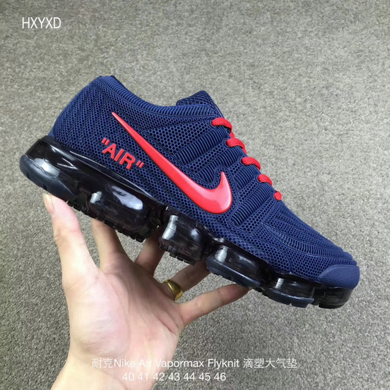 Cheap Nike 2018 Nike Air 2018 Flyknit Red Royal Blue Running