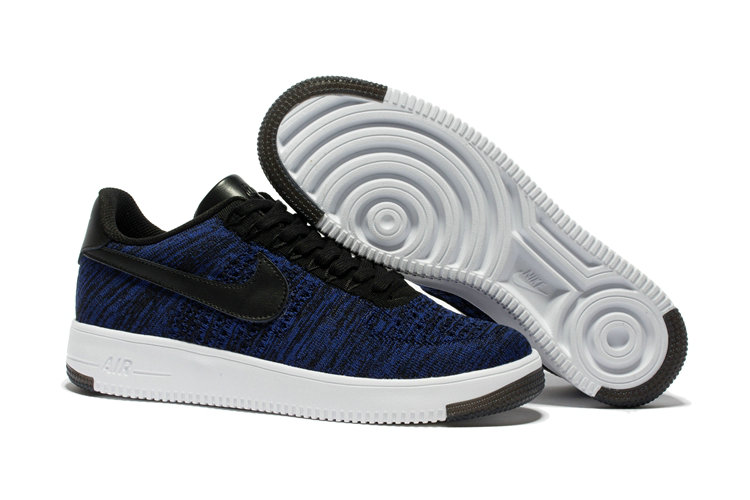 sports shoes 61626 19b1b New 2018 Nike AF1 Cheap x Nike Air Force 1 Low Ultra Flyknit Game Blue