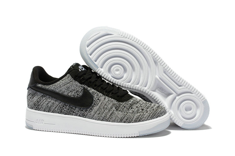 low priced fc232 3a0b7 New 2018 Nike AF1 Cheap x Nike Air Force 1 Low Ultra Flyknit Midnight Fog  Silt
