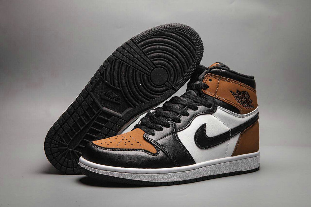 Cheap Nike Air Jordan 1 Rero High OG Brown Black White