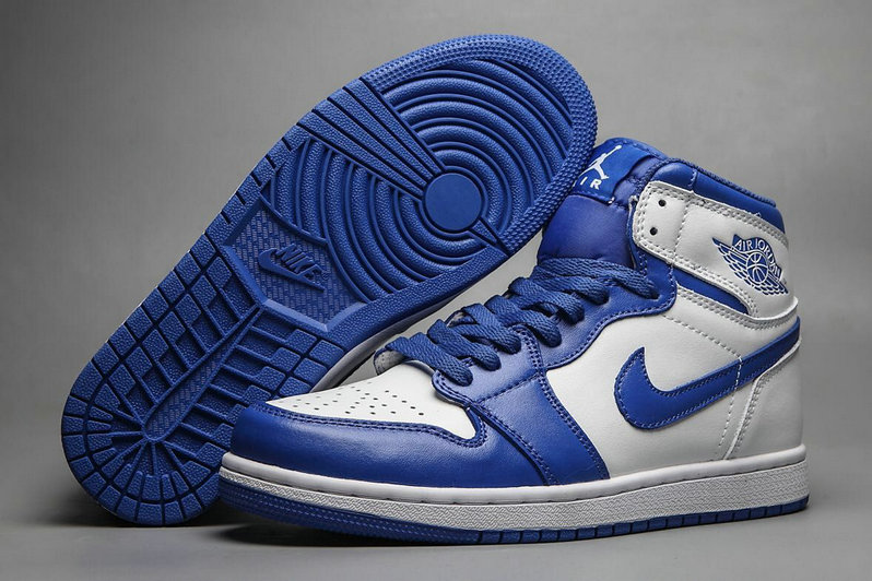 Cheap Nike Air Jordan 1 Rero High OG White Royal Blue