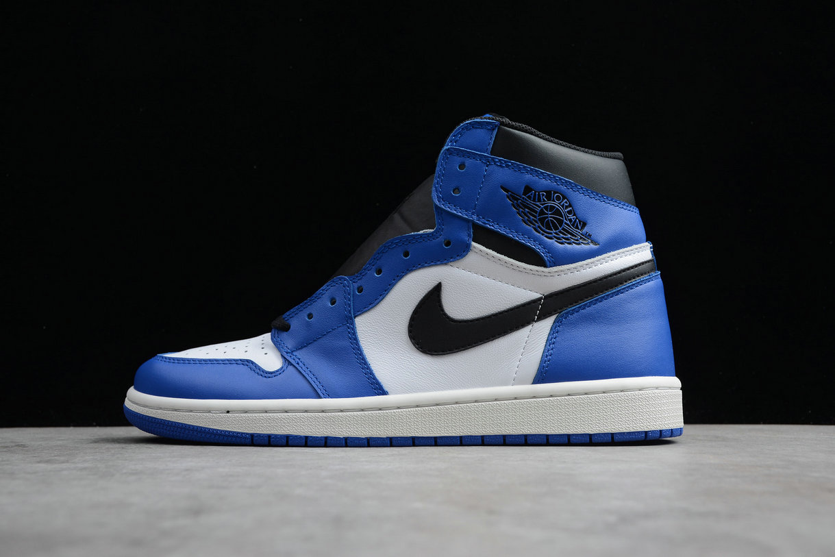 Cheap Nike Air Jordan 1 Retro High OG 555088-403 Royal White Blanc