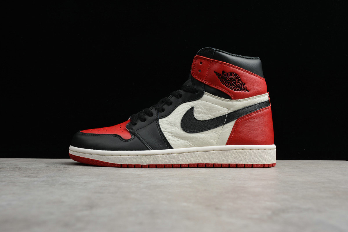 Cheap Nike Air Jordan 1 Retro High OG 555088-610 Gym Red Black Summit White Rouge Gym Blanc Sommet Noir