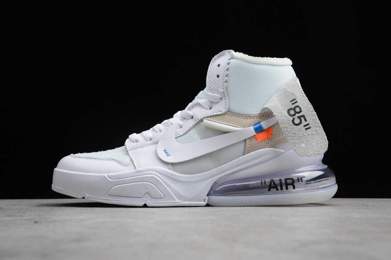 Cheap Nike Air Jordan 1 x OFF-WHITE NRG AQ0818-100 White Blanc