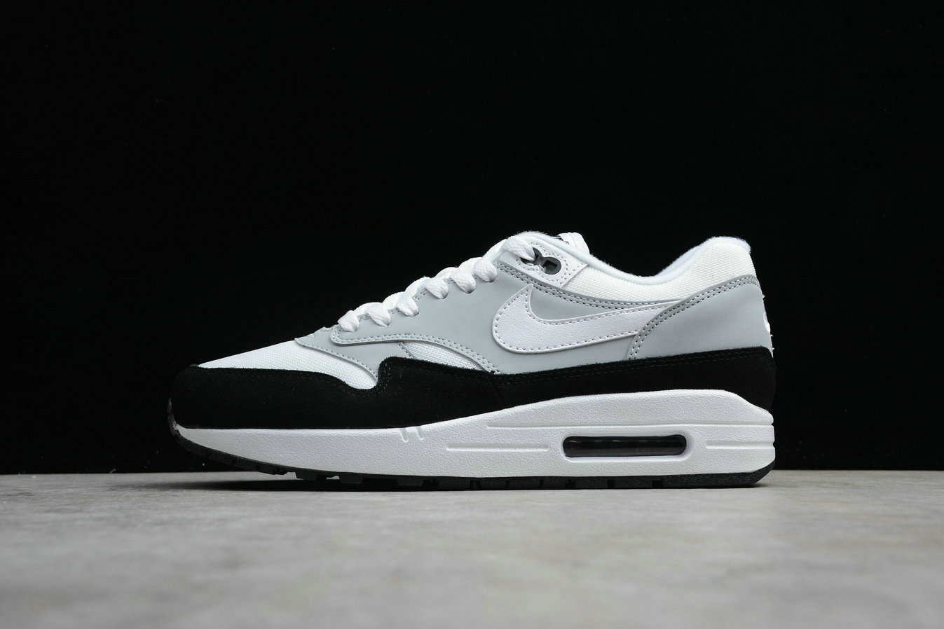 2d079aaf42a4 ... spain cheap nike air max 1 ah8145 003 wolf grey white black gris loup  noir blanc