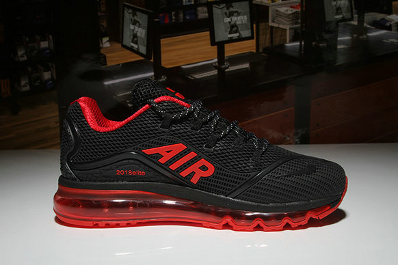new style c58d0 1a034 Cheap Nike Air Max 2018 Elite Red Black - Cheap Nike Air Jordan ...