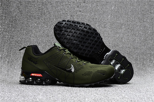 Cheap Nike Air Max 2018 Ultra Zoom Army Green Black Running Shoes