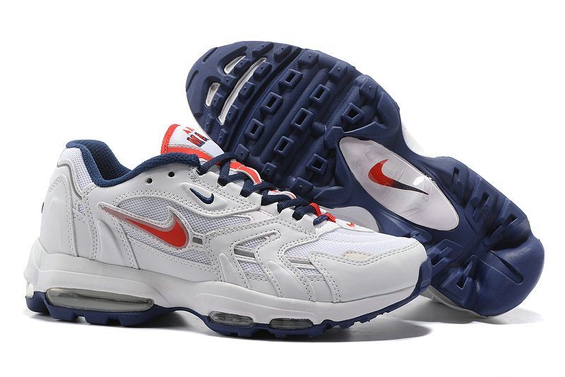 Cheap Nike Air Max 96 Red White Navy Blue