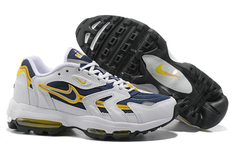 Cheap Nike Air Max 96 Yellow Navy Blue White