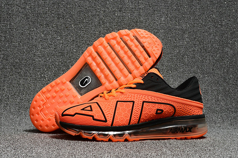 Cheap Nike Air Max Flair 2017 Mens Orange Black Sneakers