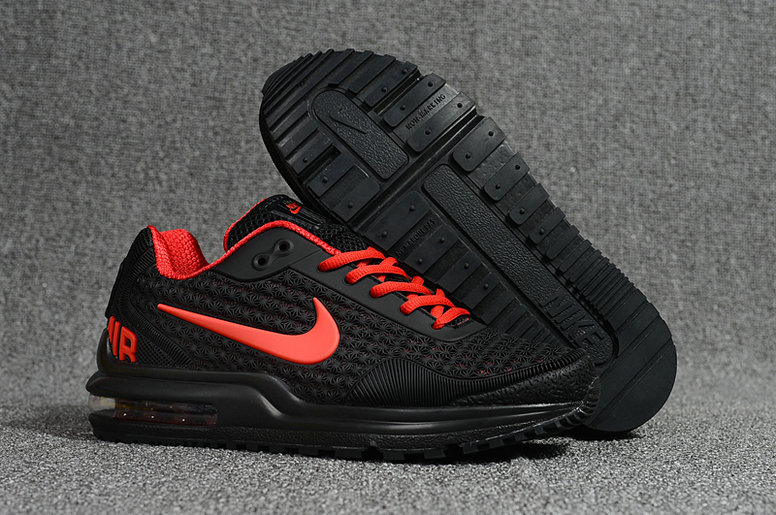 Cheap Nike Air Max LTD Red Black Running Shoes