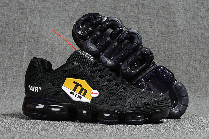 quality design 8a405 0b8b1 Cheap Nike Air VaporMax Plus TN Ultra Triple Black - Cheap ...