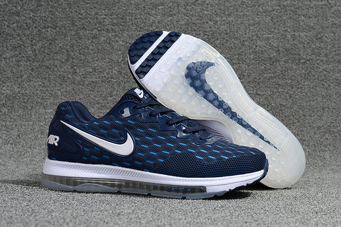 Cheap Nike Air Zoom All Out Flyknit Blue White Running Shoes