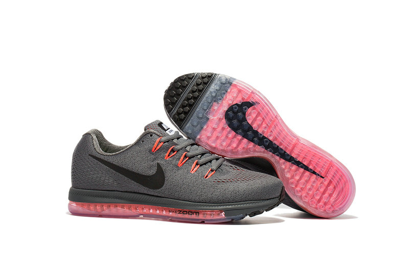 Cheap Nike Air Zoom All Out Flyknit Mens Grey Black Orange Pink