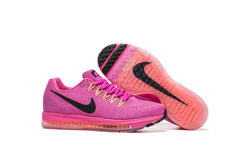Cheap Nike Air Zoom All Out Flyknit Womens Pink Black Red