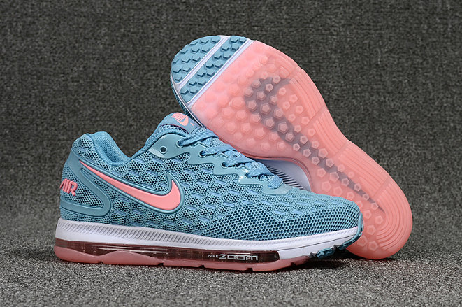 Cheap Nike Air Zoom All Out Womens Pink White Blue Running