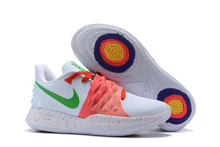 31751767409 Cheap Nike Kyrie 4 Low EP White Red Green