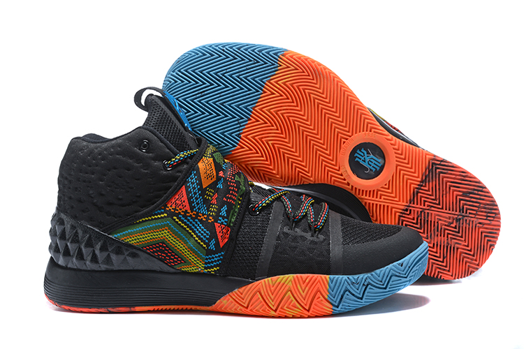 Cheap Nike Kyrie S1 Hybrid BHM Black Multi-Color For Sale