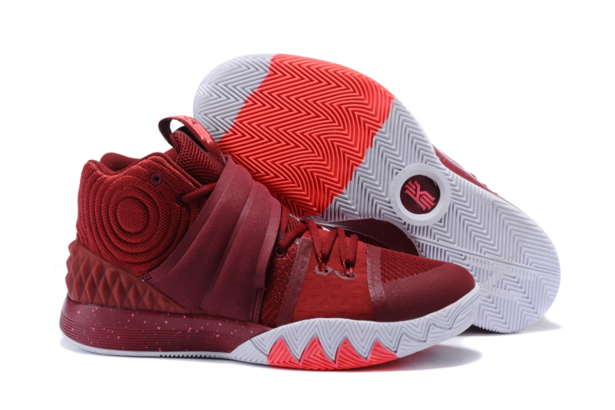 Cheap Nike Kyrie S1 Hybrid Burgundy White-Fusion Pink For Sale