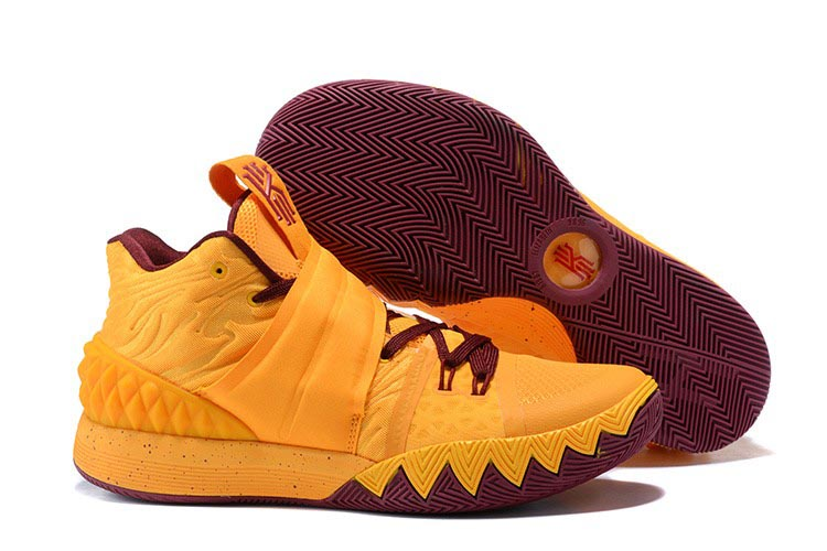 Cheap Nike Kyrie S1 Hybrid Cavs Yellow Wine Red For Sale