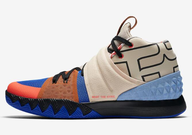 Cheap Nike What The Kyrie S1 Hybrid Vivid Blue AJ5165-900 For Sale