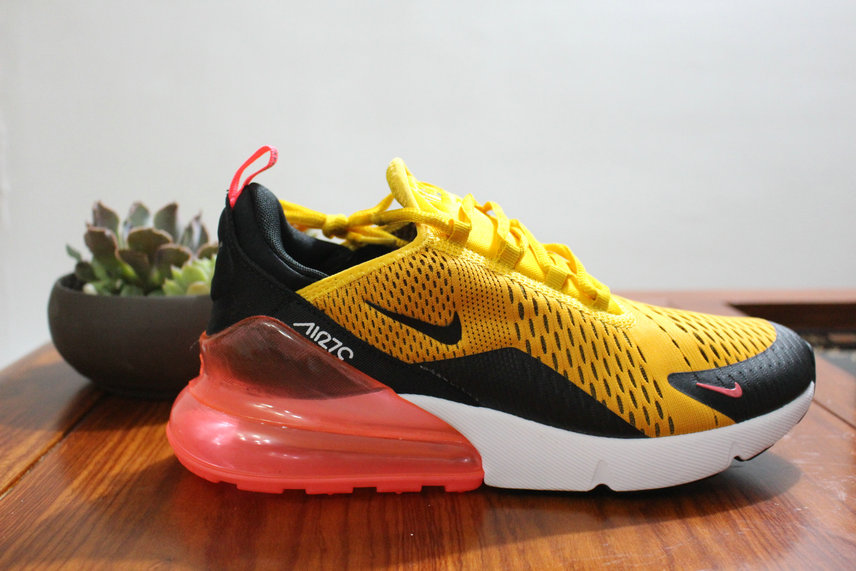 low price nike lab air max 270 black pink yellow red f4c93 3fe4c