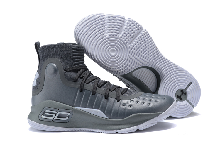 932f9c347fdf Cheap UA Curry 4 Grey Wolf Grey-White For Sale - Cheap Nike Air ...