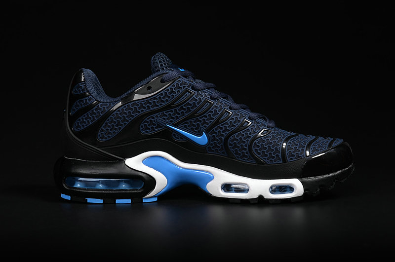 Customize Nike TN Shoes Cheap Nike Air Max TN Blue Black White