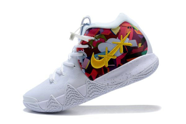 the best attitude 570ca d54c2 Cheap Mens Nike Kyrie 4 BHM Multi-Color Equality Basketball ...
