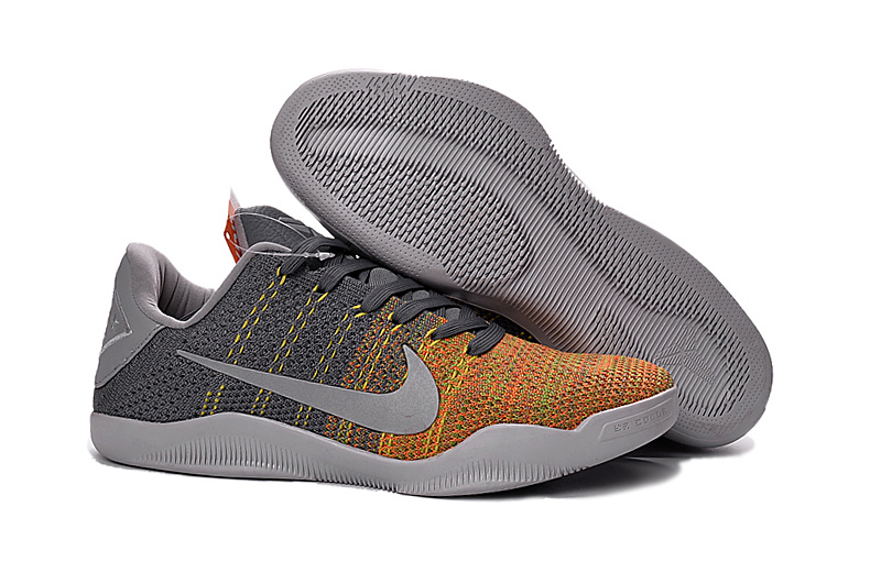 Kobe 11 Elite Low Cool Grey Cool Grey Voltage Green-Yellow Strike 2016 For Sale