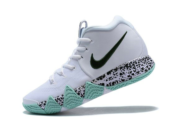 the best attitude 1171d e1eaf Cheap Kyrie Irving Nike Kyrie 4 White Glow in the Dark Mens Basketball Shoes