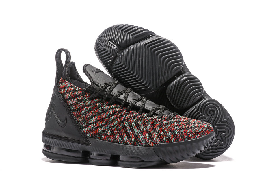 d88a5834f5e81f LeBron James Officially Unveils The Nike LeBron 16 Black-Black-University  Red