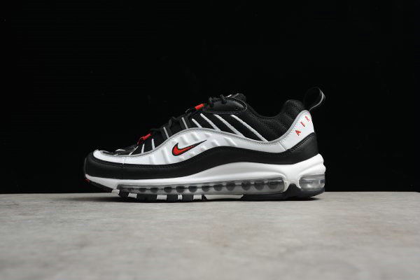 Nike Air max 98 university red and white Depop