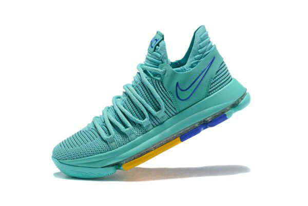 Cheap Mens Nike KD 10 City Edition 2 Hyper Turquoise Racer Blue 897816-300