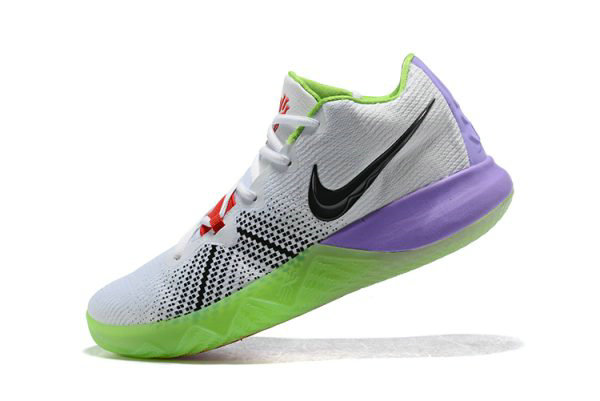 cheaper 46486 a1a63 Cheap Mens Nike Kyrie Flytrap White Black Red Purple Green Shoes Free  Shipping
