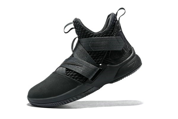 e6528bc74c97 Cheap Mens Nike LeBron Soldier 12 SFG Zero Dark Thirty Anthracite Black  AO4054-002